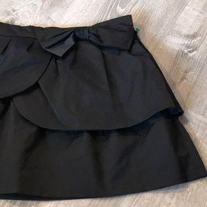 Material Girl~~Adorable Black Mini Skirt.